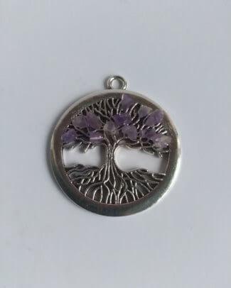 Pandantiv Pomul Vieţii ametist